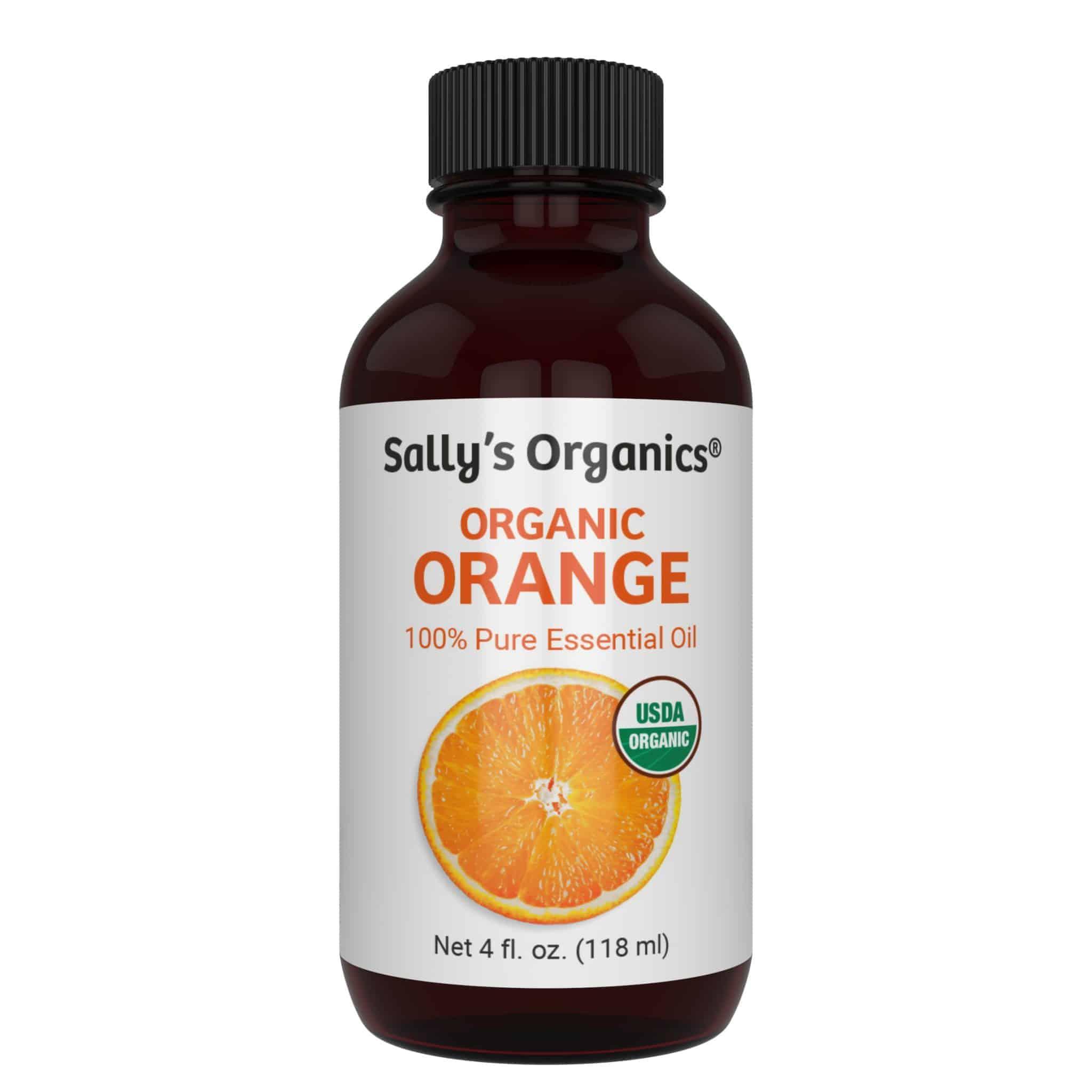 Organic Orange Essential Oil Image
